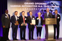SANHUA Automotive North American Technical Center Grand Opening